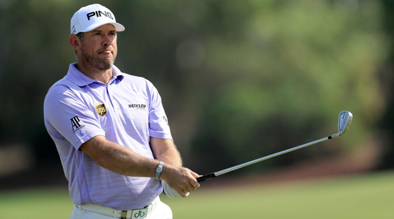 Lee Westwood opened with a 66 in tough conditions at Jumeirah Golf Estates on Thursday.