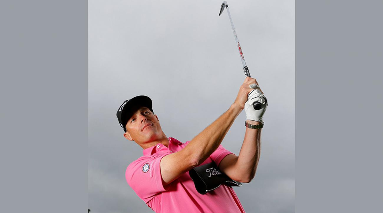 Hit balls with a headcover tucked in your left armpit to groove a draw.