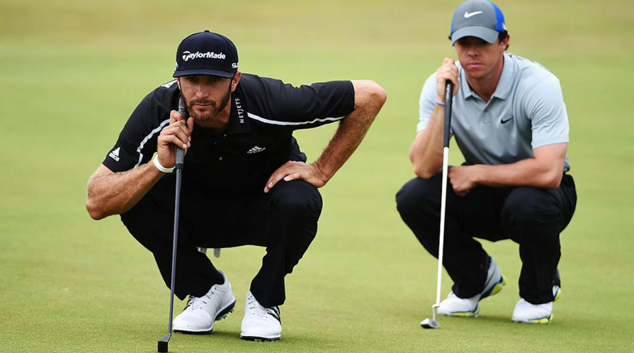 Rory McIlroy and Dustin Johnson were set to square off in the Philippines November 29.