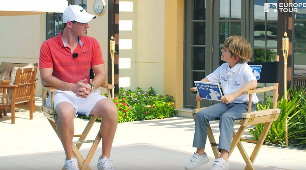 """Rory McIlroy: """"Honestly, Billy, I've stopped following women's tennis."""""""