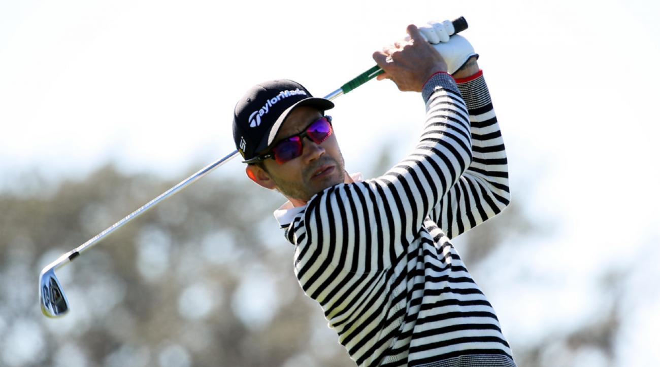 Camilo Villegas is among the four golfers still alive in the playoff at the RSM Classic.