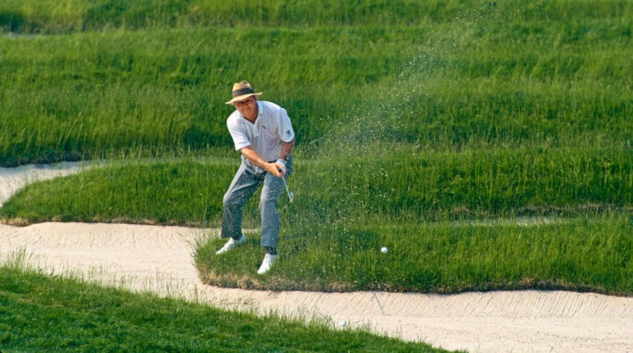 Arnold Palmer competed in his final U.S. Open at Oakmont in 1994.