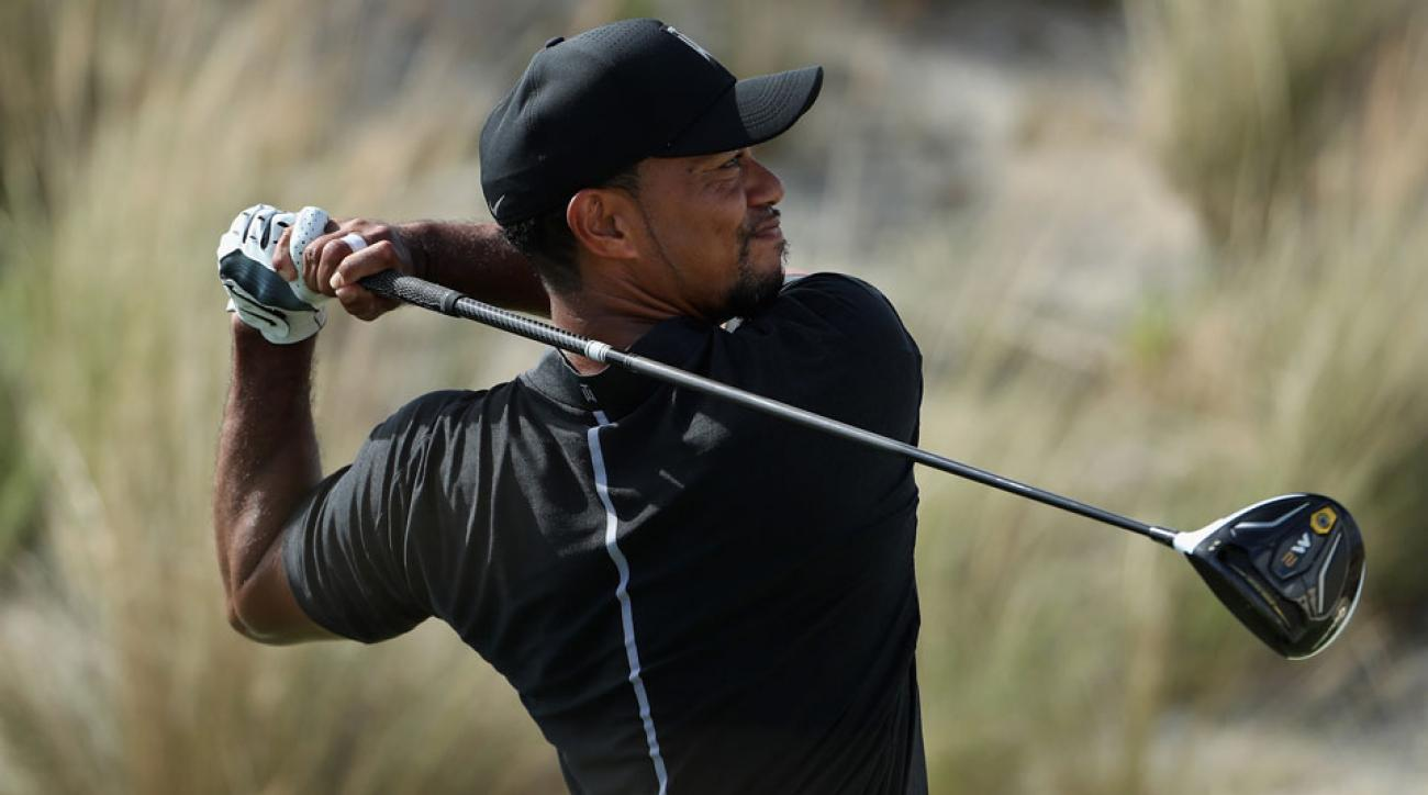 Tiger Woods teed it up in competition for the first time since the 2015 Wyndham Championship.