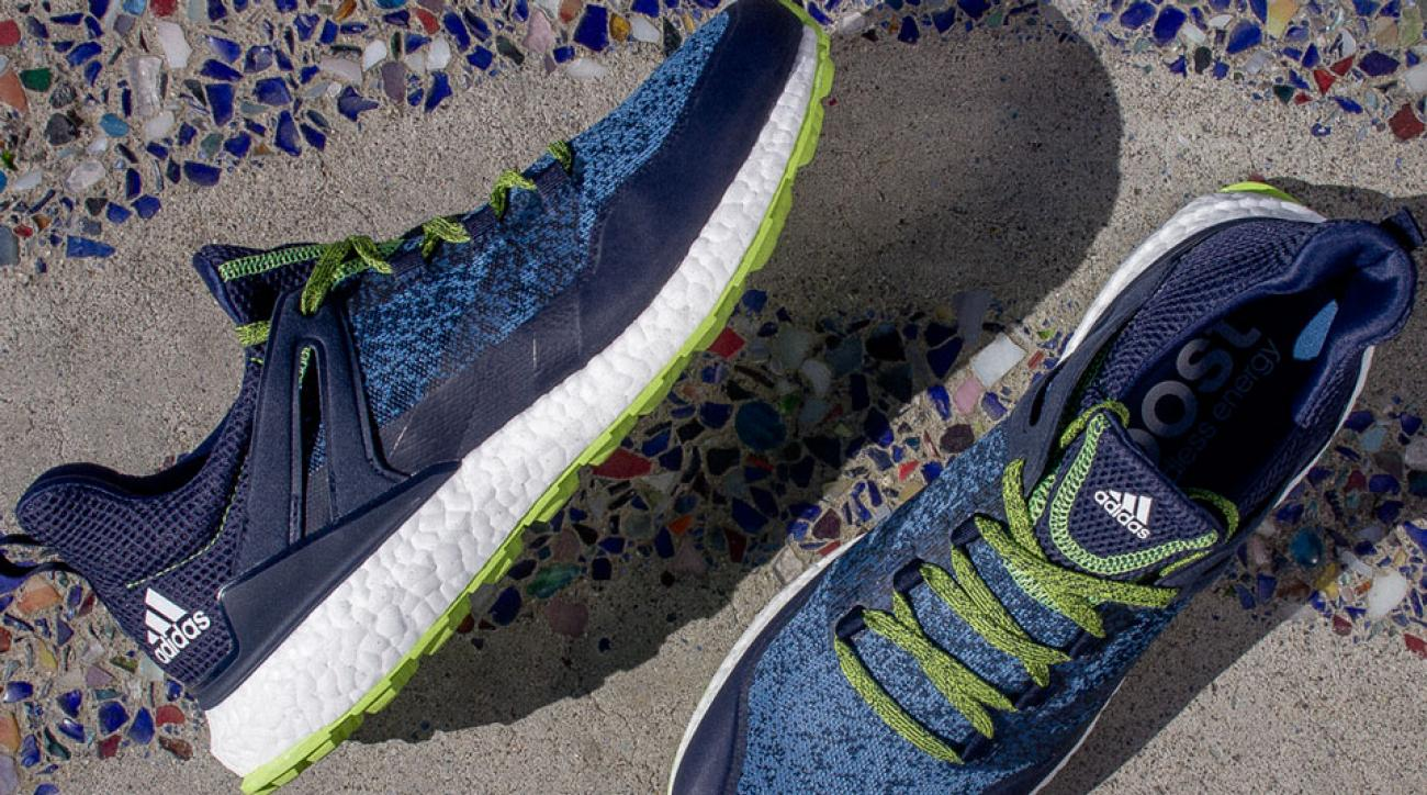 The new Adidas Golf Crossknit Boost is available in four colorways.