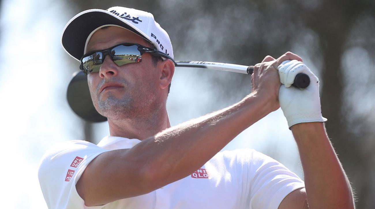 Adam Scott won the Australian PGA Championship in 2013.