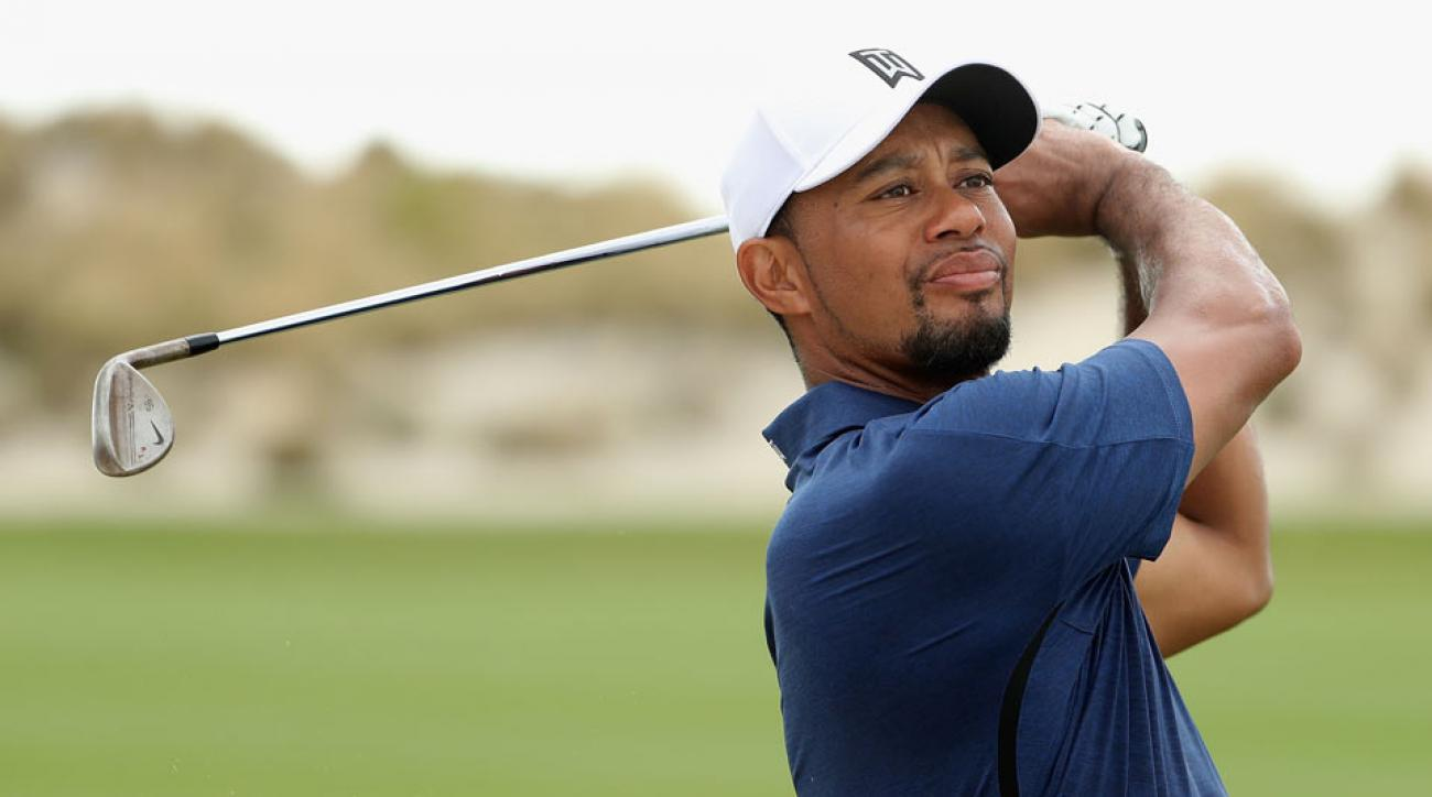 Tiger Woods on Friday at the Hero World Challenge.
