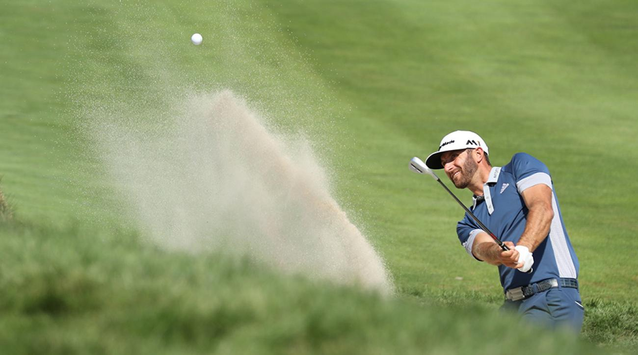 DJ improved his performance from greenside bunkers by 0.2 strokes per round, finding the putting surface with 91 percent of his shots.