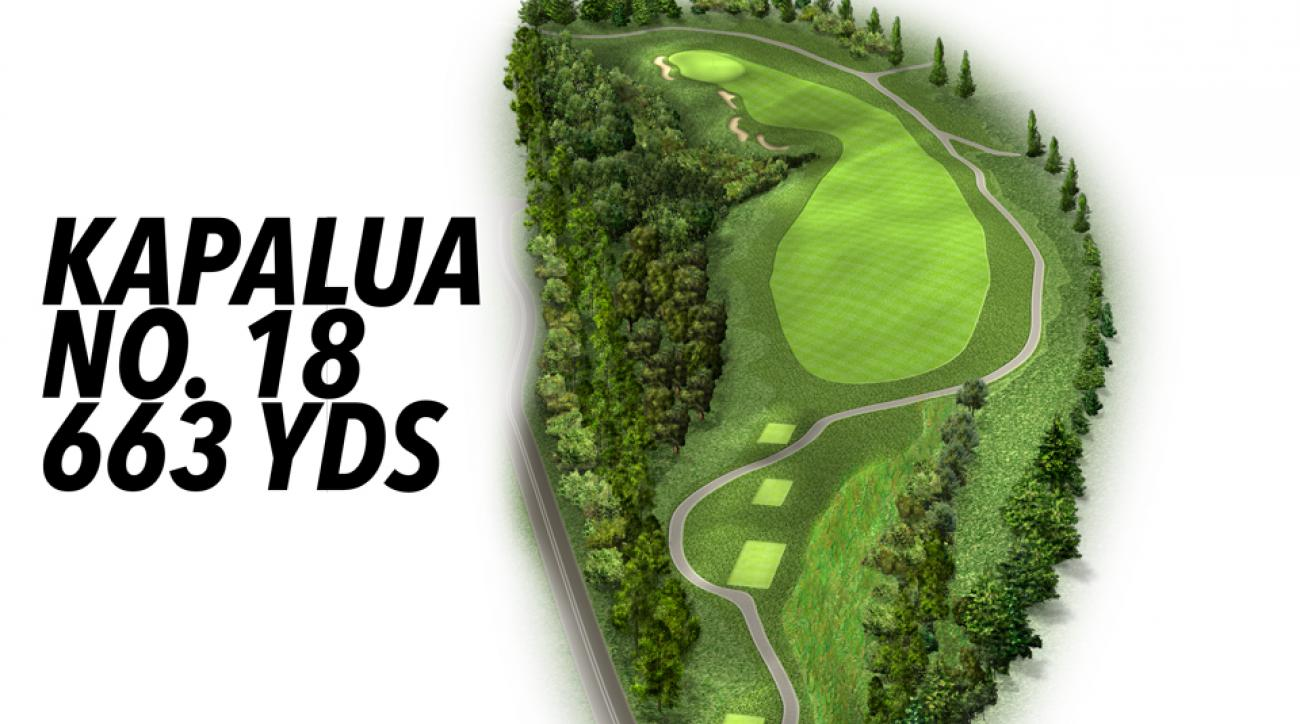 Kapalua's 663-yard finisher can be an easy birdie with the right strategy.