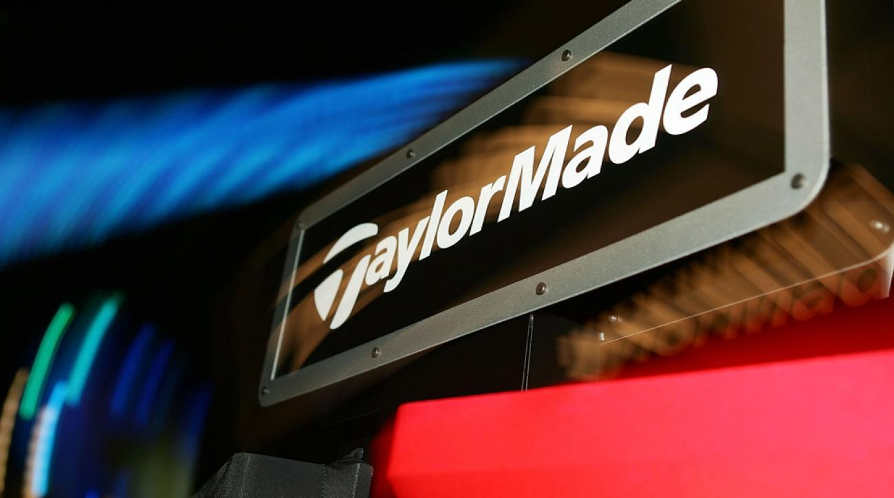 TaylorMade Golf's logo seen at the PGA Merchandise Show.