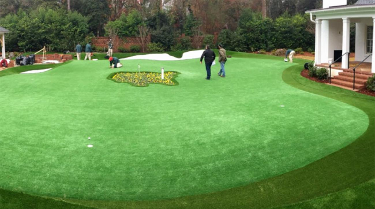Talk about putting green goals.