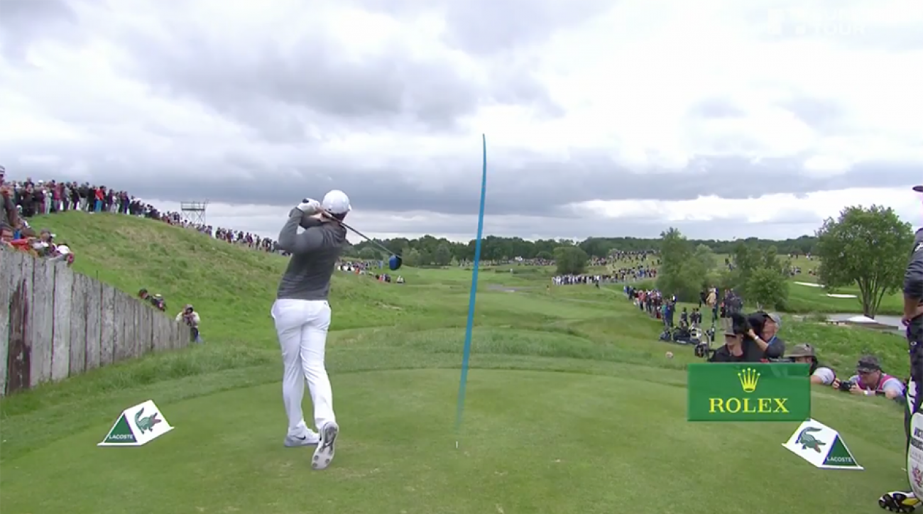 Rory McIlroy's 10 Best Protracer Shots of 2016