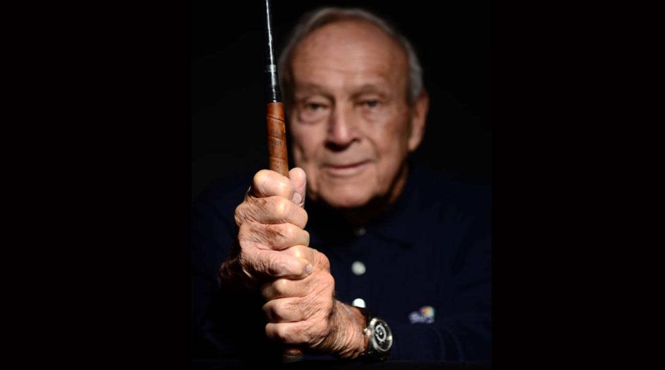 Arnold Palmer can help you perfect your grip.