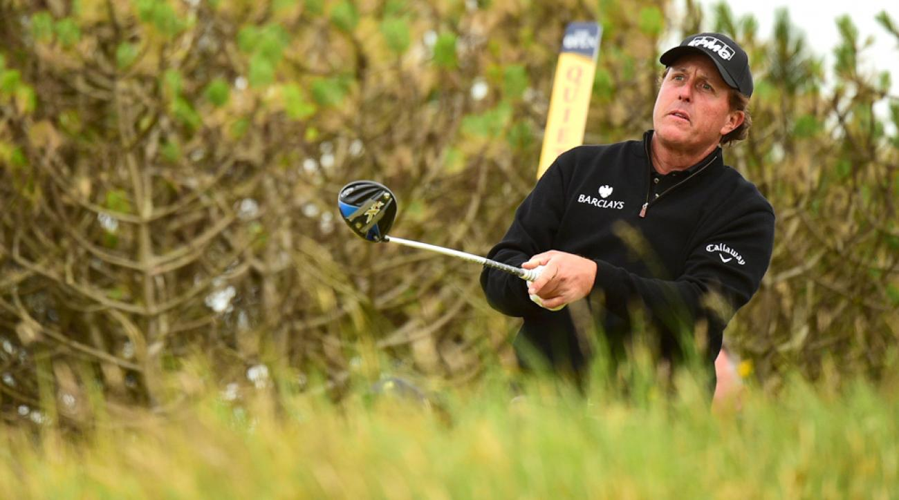 Phil Mickelson's most recent best chance at a major was squashed by Henrik Stenson at the 2016 British Open at Royal Troon.