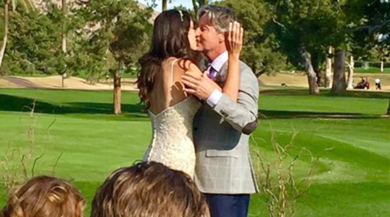 Bailey Mosier and Brandel Chamblee were married in Phoenix on Friday.