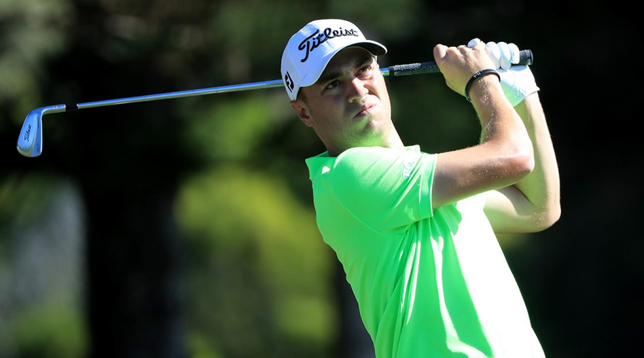 Justin Thomas kicked off 2017 in a big way, winning the SBS Tournament of Champions on Sunday in Kapalua.