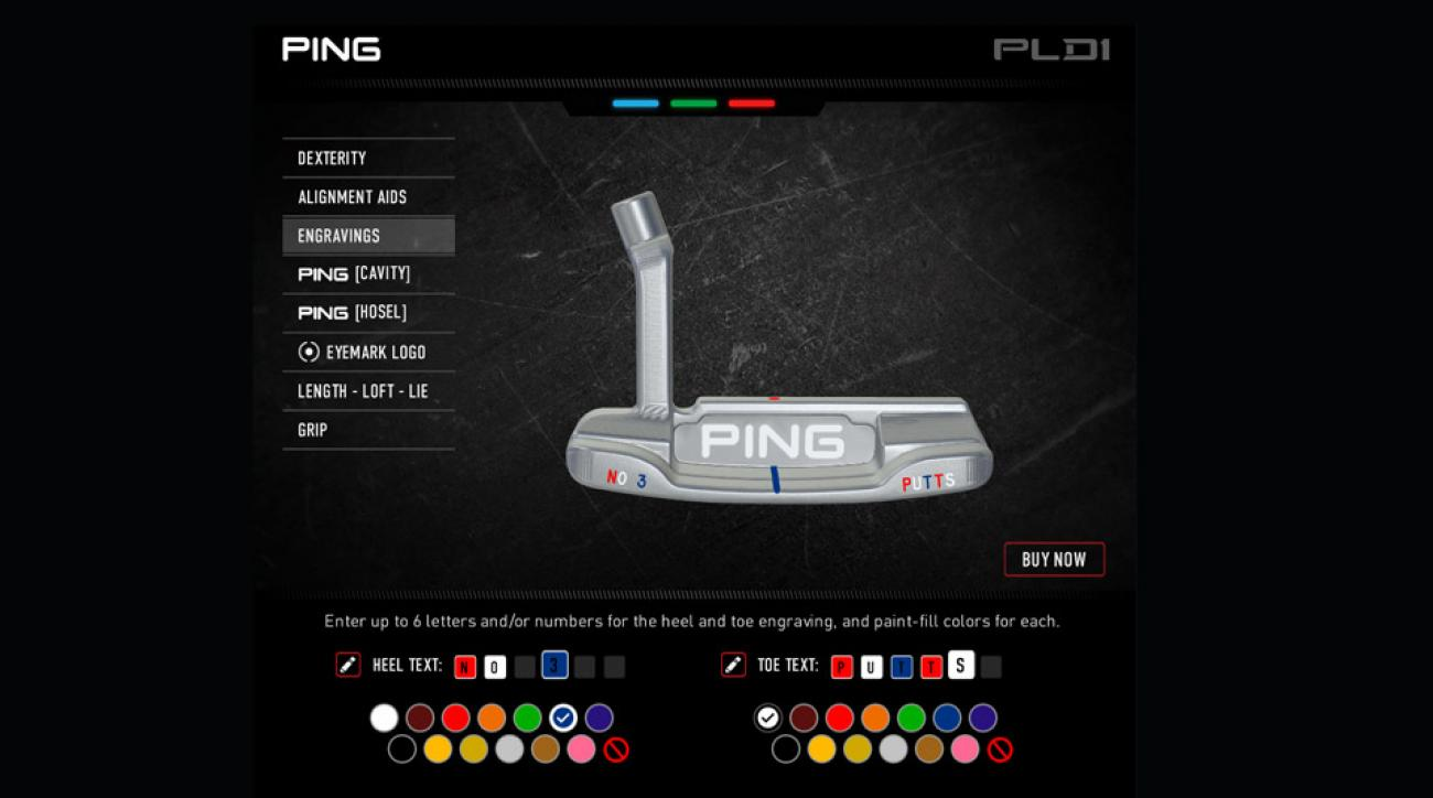 A look at Ping's PLD1 putter program
