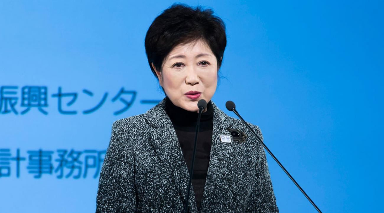 Yuriko Koike was elected Tokyo's first female governor in 2016.