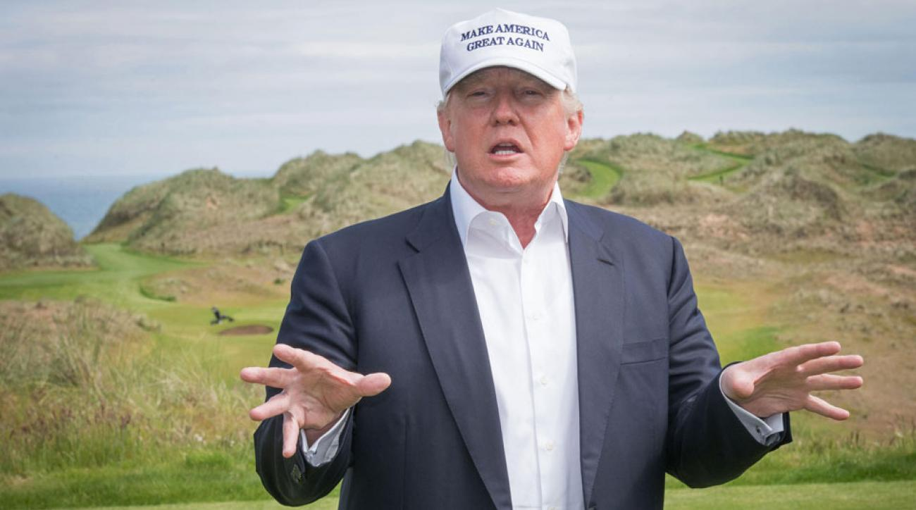 Donald Trump's Scottish golf resort, which opened in 2012, is due for an expansion.