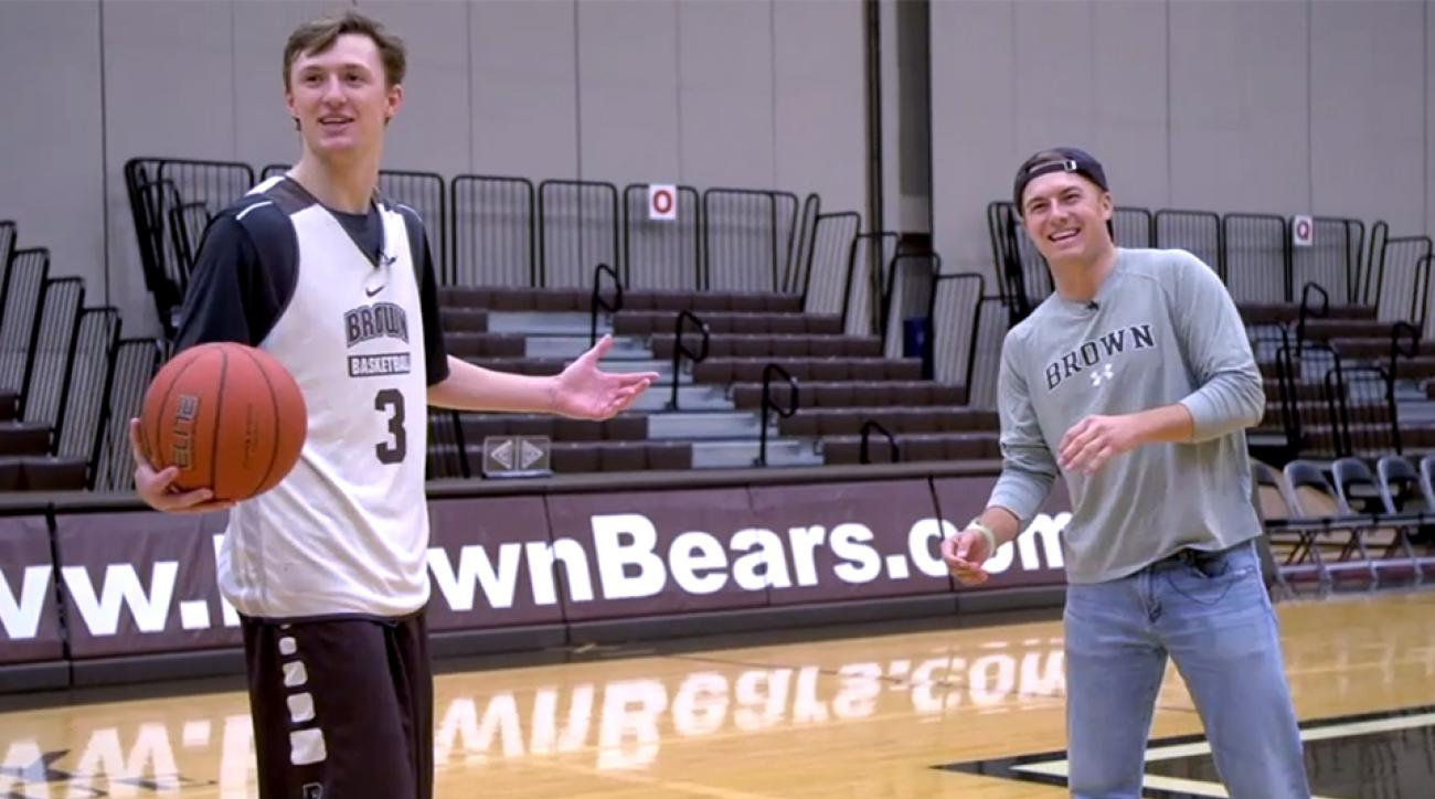 Jordan Spieth may have a green jacket, but can he beat his brother is basketball?