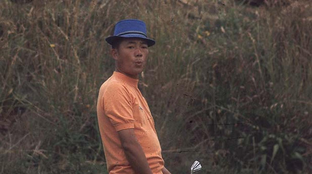 Golf: British Open. Lu Liang-Huan at                 Royal Birkdale.                 England  07/09/71                 Credit: Gerry Cranham                 SetNumber: X16020 TK4 R1 F22