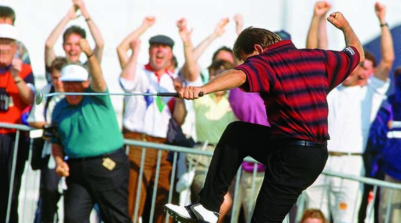Nick Price wins 1994 British Open                 Credit: Bob Martin                 SetNumber: X46548 TK5 R11