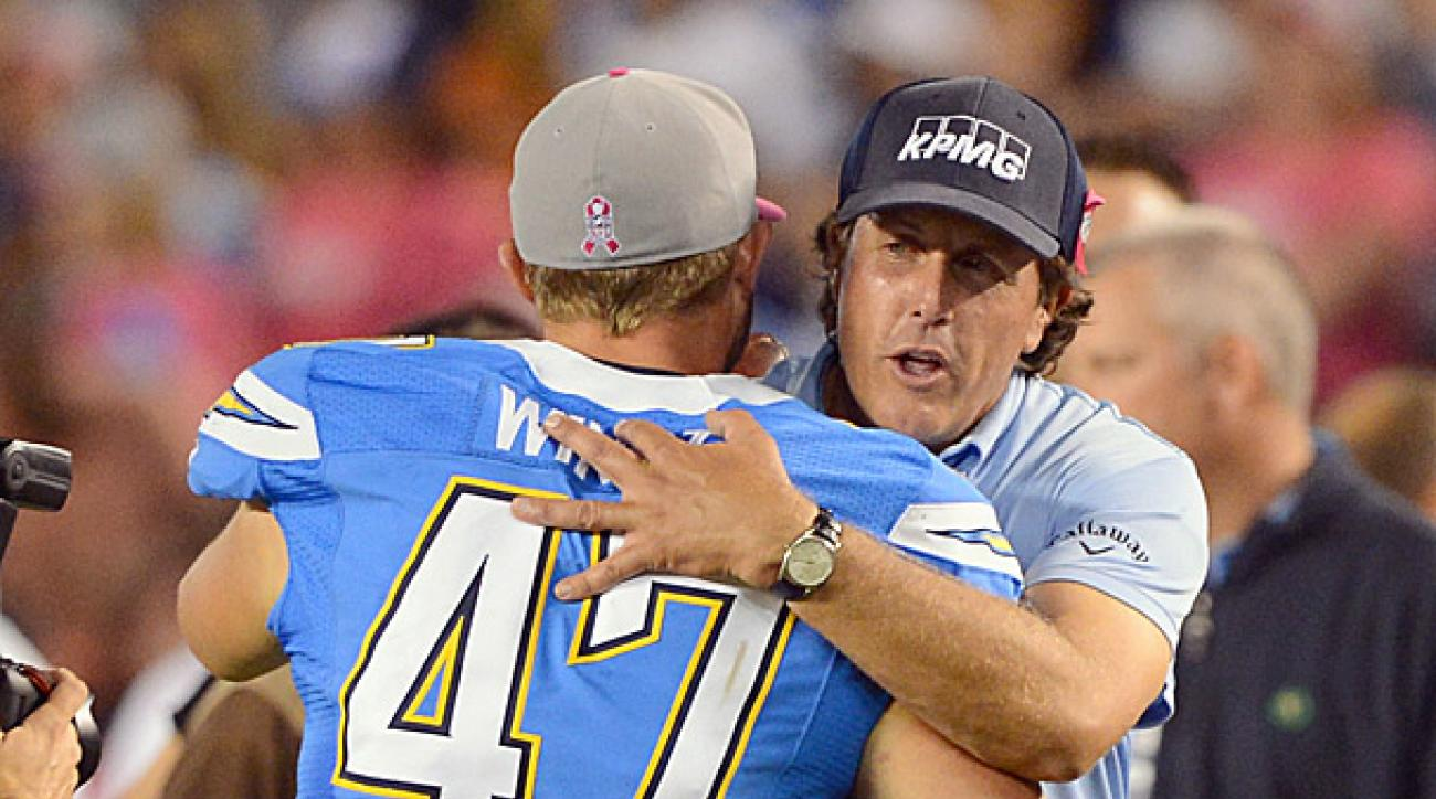 Phil Mickelson, Chargers