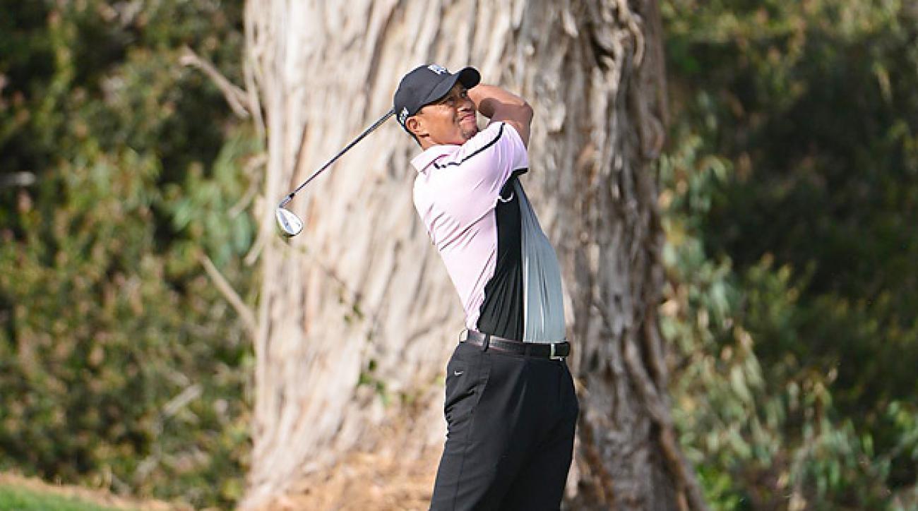 Tiger Woods, 2014 Farmers Insurance Open