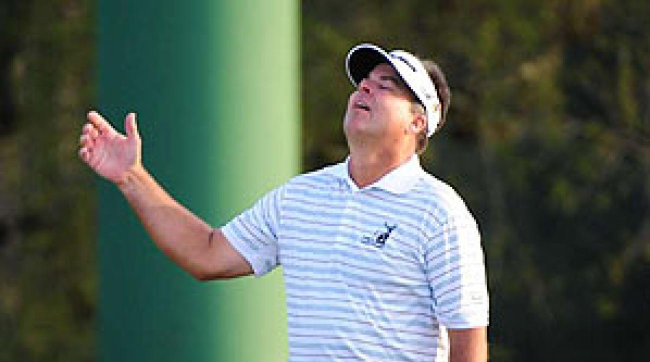 Perry made bogey on the second playoff hole to lose the tournament.