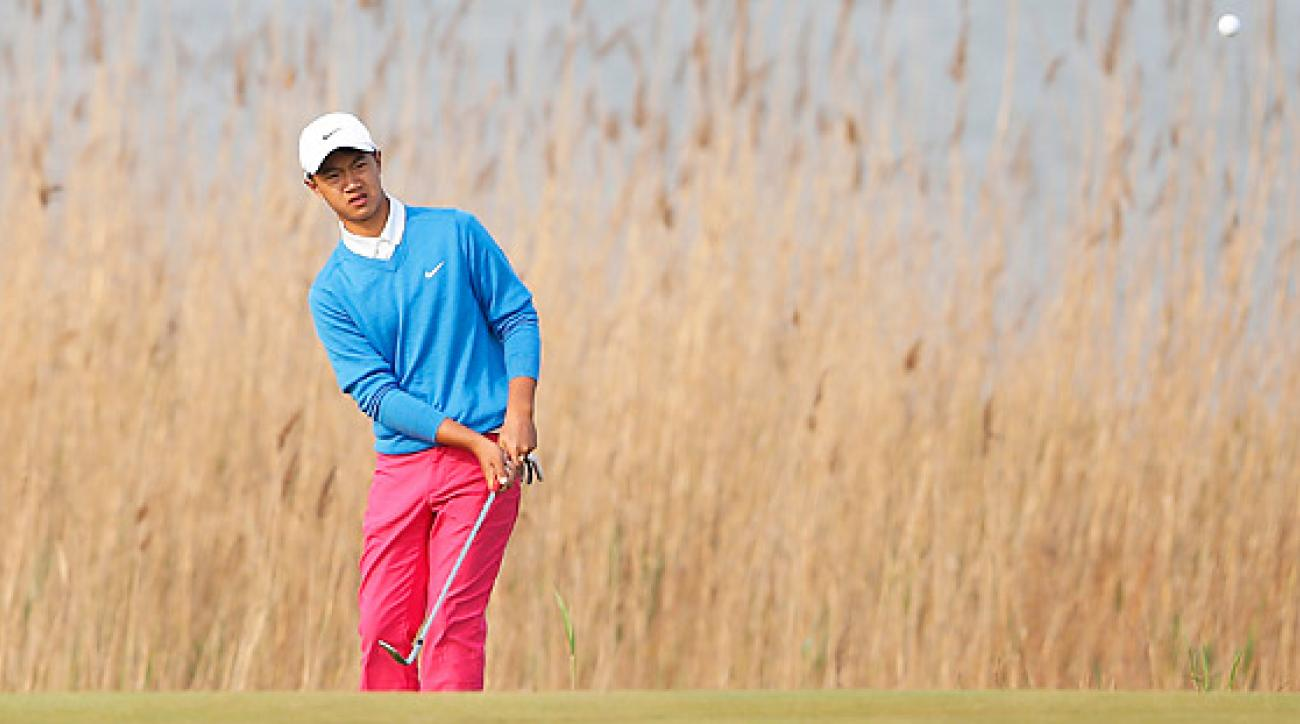 12-year-old Ye Wocheng is the youngest player to compete in a European Tour event.