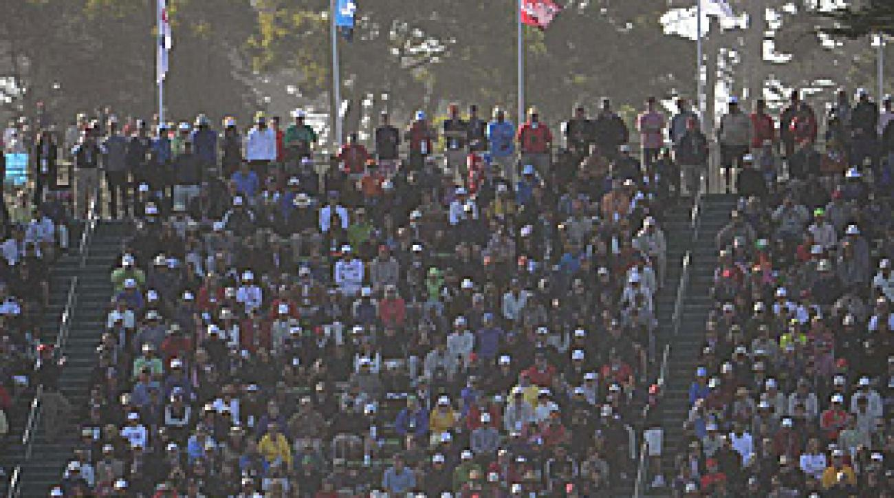 By the time Tiger Woods got to the 18th green on Friday, the Lake Course was dry and springy.