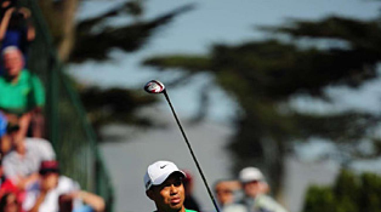 Woods did not have the control on Saturday that he'd shown in the first two rounds.