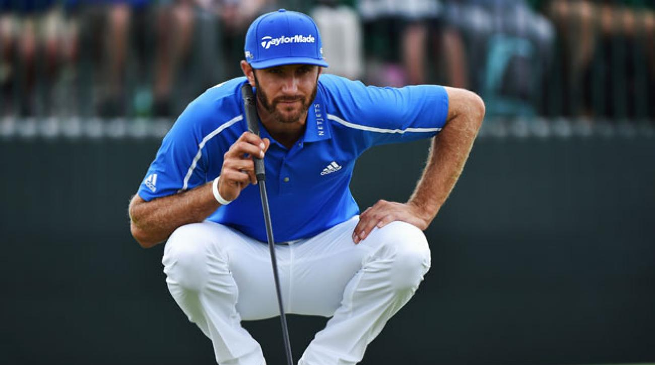 In his last competitive event, Dustin Johnson missed the cut at the RBC Canadian Open in July.