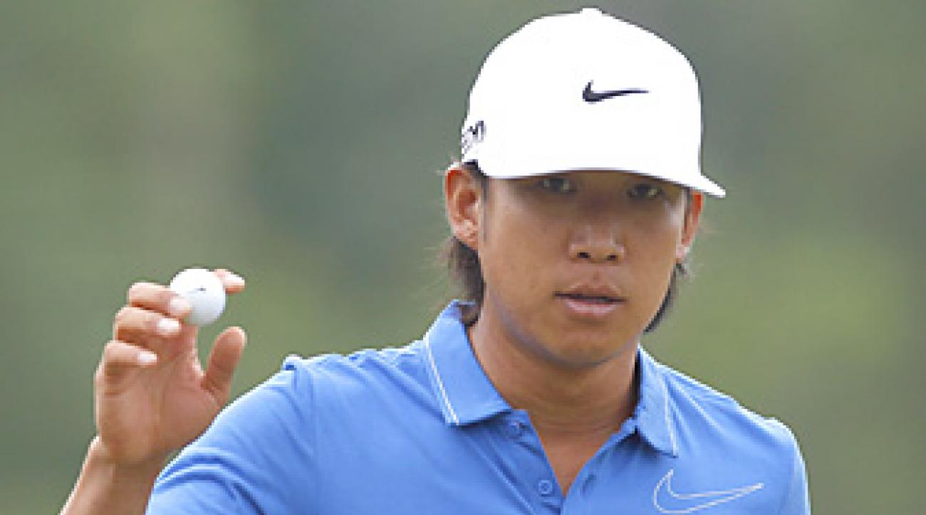 Anthony Kim hopes to return later this year for the Fall Series.
