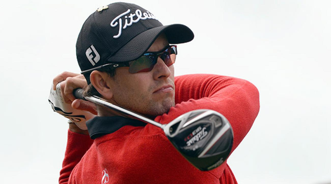 Adam Scott won last weekend's Australian PGA in his first home event since winning the Masters at Augusta in April.