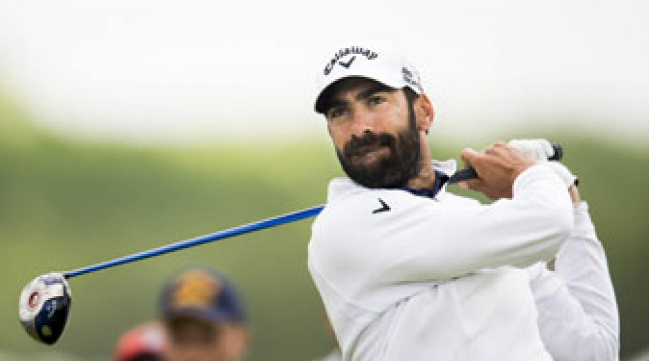 Alvaro Quiros shares the Nordea Masters lead with Victor Dubuisson and Eddie Pepperell.