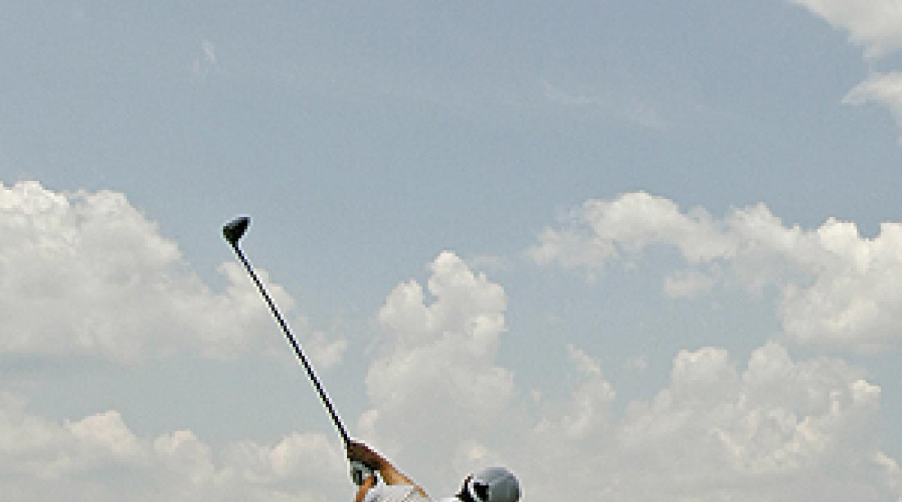 Anthony Kim may be short in stature, but he's long off the tee.