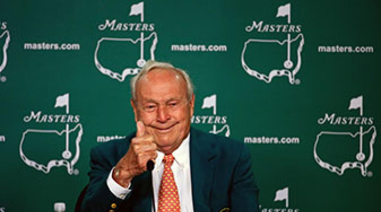 Arnold Palmer won four Masters Tournaments in seven years from 1958 to 1964.