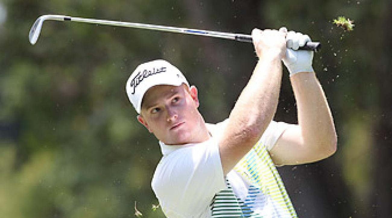 Matthew Giles had finished 66th at a Nationwide Tour event the day before the crash.