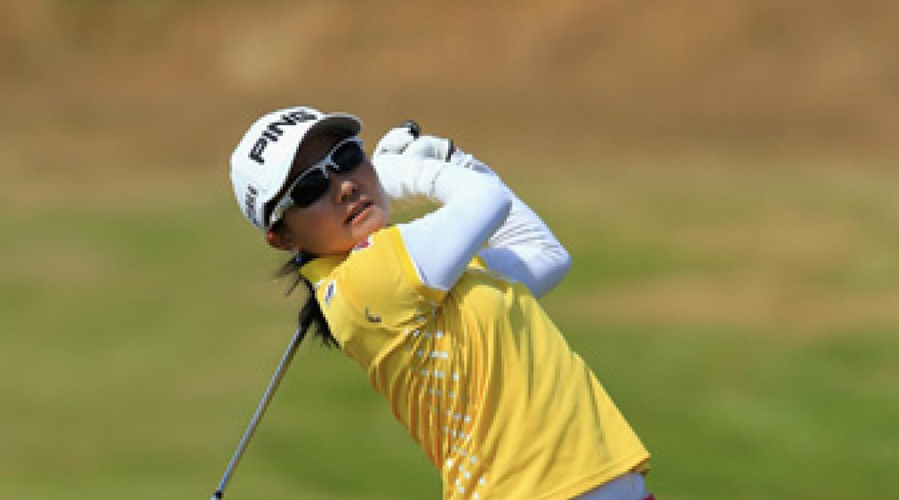 Ayako Uehara has two top 10 finishes on the LPGA Tour.