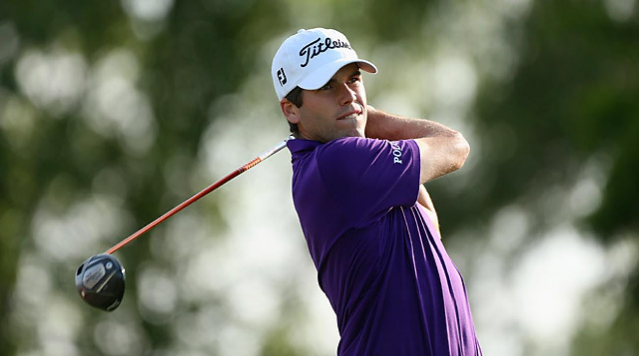 Ben Martin fired a 10-under 62 in the first round.