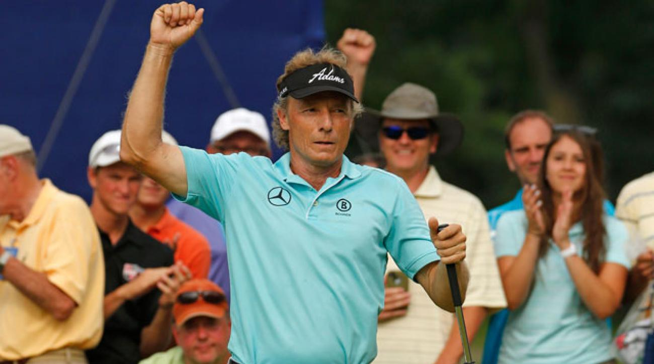 Bernhard Langer's game is a textbook example of how to dissect a golf course, says Gary Van Sickle.