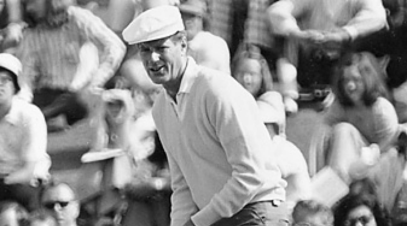 Bill Campbell, shown here competing in the 1974 Masters, went on to become president of the USGA and a Hall of Famer.