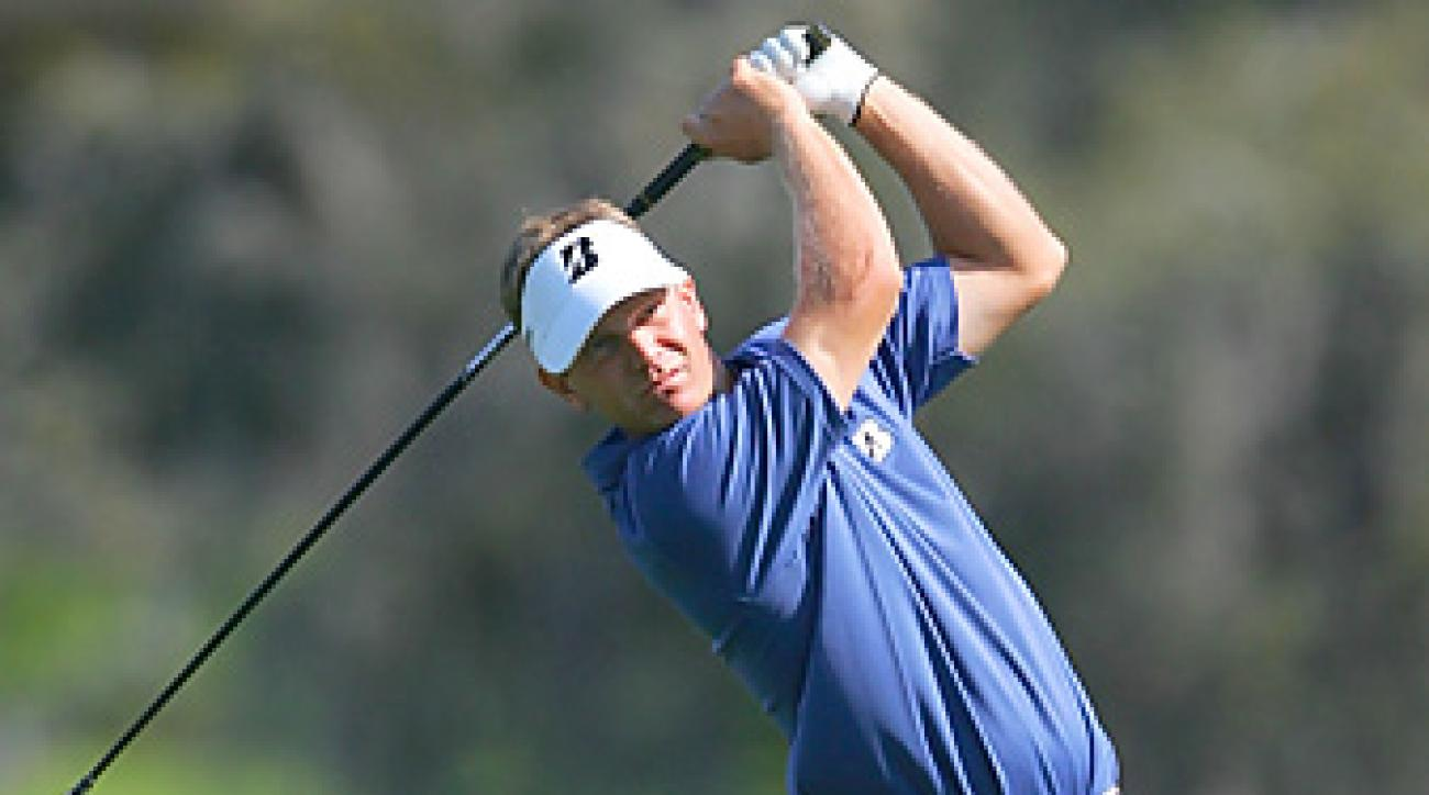 Billy Hurley III (shown here at the 2011 Arnold Palmer Invitational) will begin his first season as a full-time member of the PGA Tour in January.