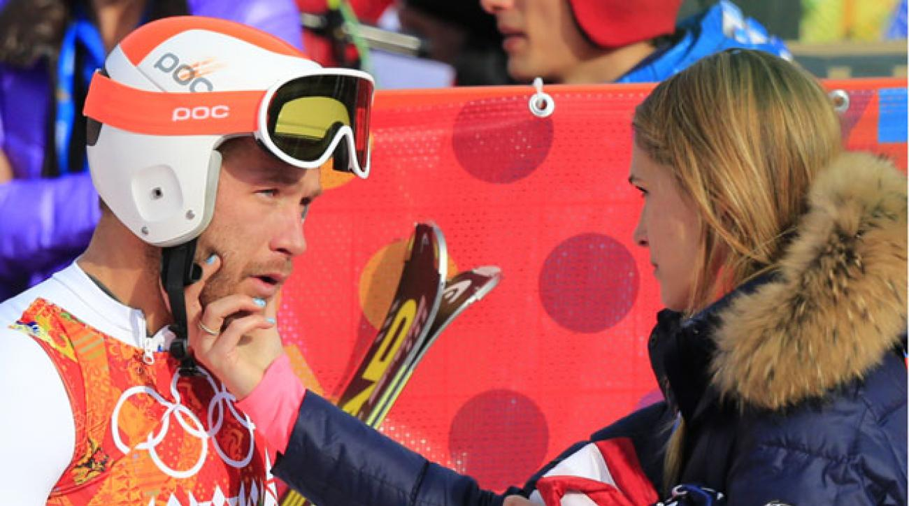 Bode Miller and wife Morgan Beck.