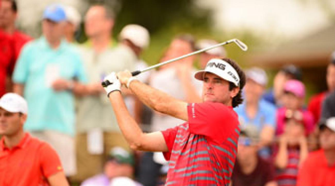 Bubba Watson finished T64 at the PGA Championship.