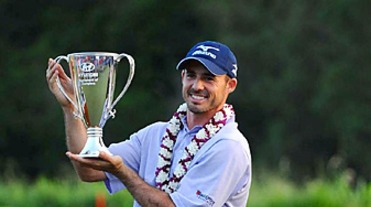 Last year Jonathan Byrd won the season-opening event at Kapalua -- but does anyone remember?