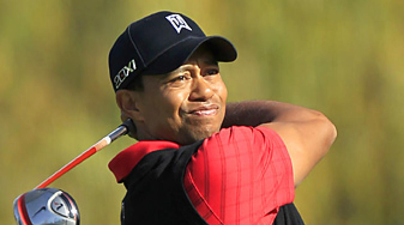 Tiger Woods will make his season debut this week in Abu Dhabi.