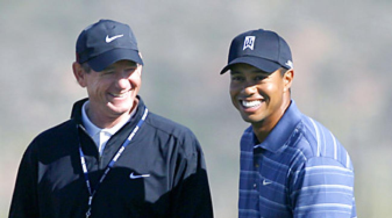 Tiger Woods and Hank Haney worked together for more than six years.
