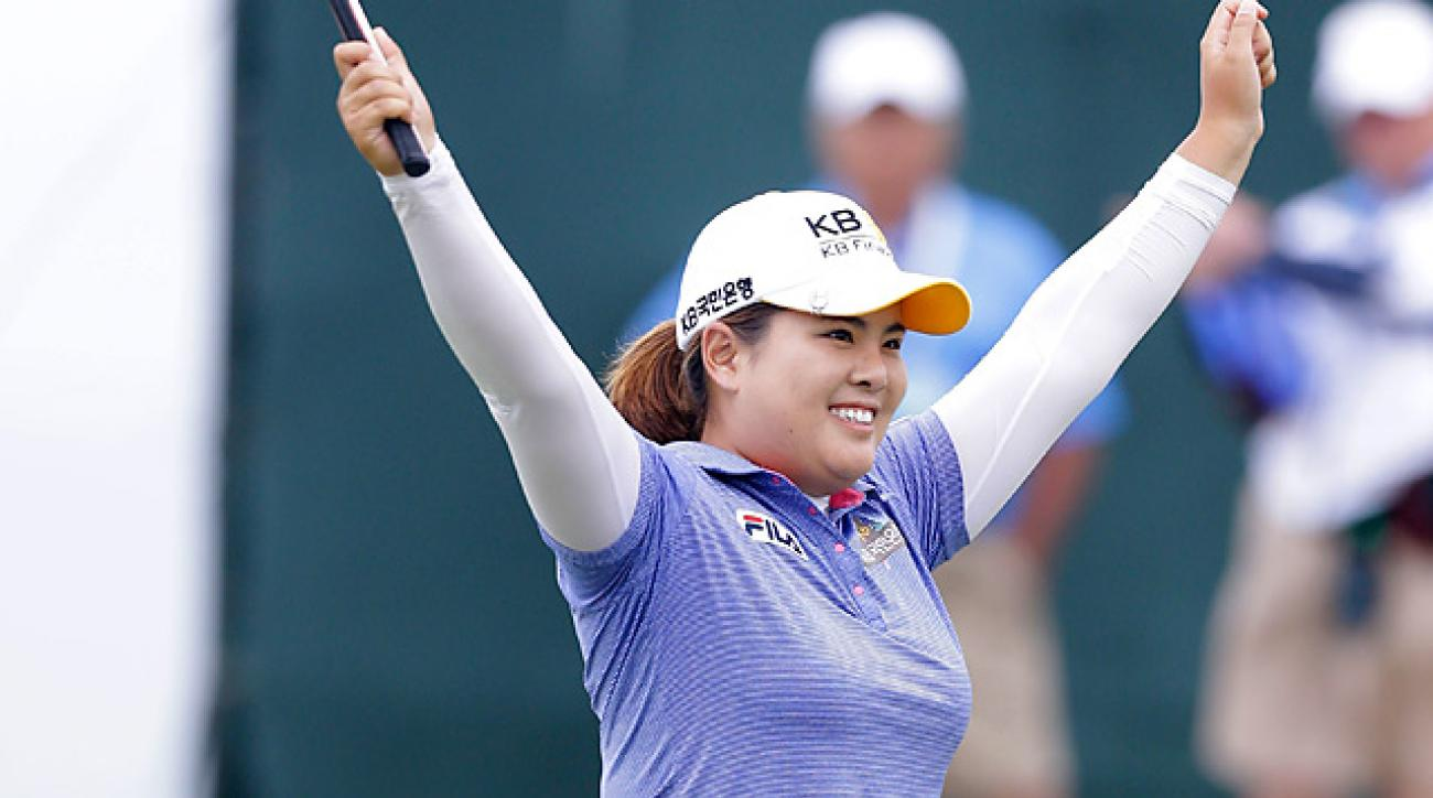 Inbee Park won the U.S. Women's Open by four shots for her third straight major title of 2013.
