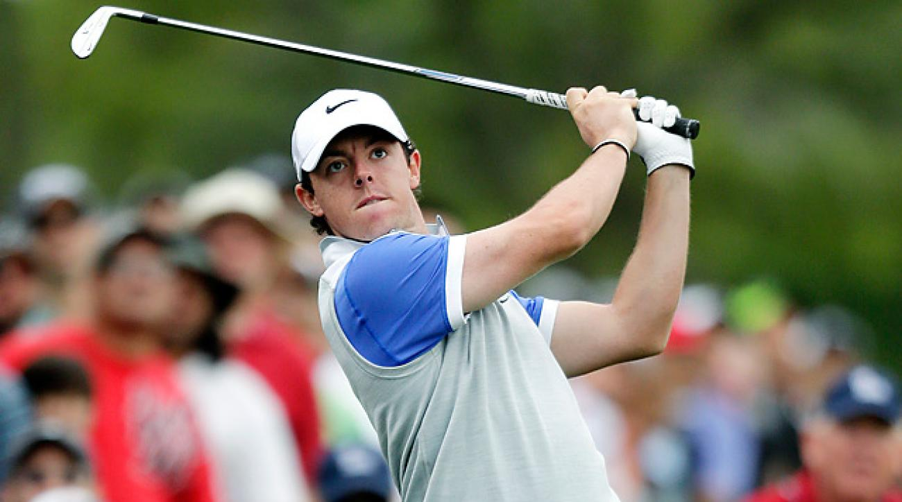 Rory McIlroy shot a Sunday 66 to finish along in second at the Texas Open. It was his best result of the 2013 season.
